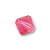 Swarovski 5328 3mm Indian Pink Bicone Bead (10-Pcs)