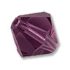 Swarovski 5328 8mm Amethyst Bicone Bead (1-Pc)
