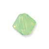 Swarovski 5328 3mm Chrysolite Opal Bicone Bead (10-Pcs)
