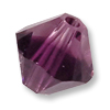 Swarovski 5328 8mm Amethyst Blend Bicone Bead (1-Pc)