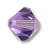 Swarovski 5328 8mm Tanzanite Bicone Bead (1-Pc)