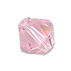 Swarovski 5328 3mm Light Rose Bicone Bead (10-Pcs)
