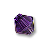 Swarovski 5328 3mm Purple Velvet Bicone Bead (10-Pcs)