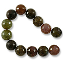 Faceted Dyed Agate Beads 14mm (16