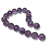 Amethyst Round Beads Medium Purple 8mm (16