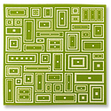 Lillypilly Aluminum Sheet Deco Squares 3