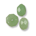 Faceted Green Aventurine Rondelle Beads 8x5mm (10-Pcs)