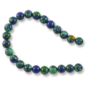 Imitation Azurite Round Beads 6mm (16