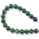 Imitation Azurite Round Beads 8mm (16