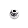 Round Bead Lightweight 2.5mm Sterling Silver (10-Pcs)