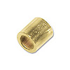 Gold Filled Crimp Tube Bead Seamless 2x2mm (10-Pcs)