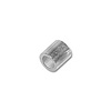 Crimp Tube Seamless 2x2mm Silver Plated (10-Pcs)