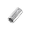 Crimp Tube Beads Seamless 4x2mm Sterling Silver (4-Pcs)