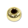 14K Yellow Gold Rondelle Bead 4x2mm (1-Pc)