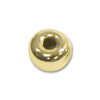 Rondelle Bead 3x1.5mm 14k Yellow Gold (1-Pc)