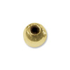 Gold Filled Round Beads Seamed 2.5mm (10-Pcs)