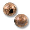 Round Bead 8mm Antique Copper Plated (10-Pcs)