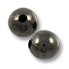 Round Bead 8mm Gunmetal Plated (10-Pcs)