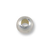 Round Bead 2.5mm Seamless Sterling Silver Filled (10-Pcs)