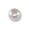 Round Bead 3mm Seamless Sterling Silver Filled (10-Pcs)