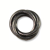 Bead Twisted Spacer 12mm Pewter Antique Gunmetal Plated (1-Pc)