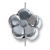 Bead Flower 8mm Sterling Silver (1-Pc)