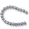 Blue Lace Agate Beads 6mm (16