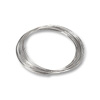 Round Large Bracelet Memory Wire Bright Stainless Steel 1/4oz.