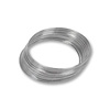 Round Large Bracelet Memory Wire Bright Stainless Steel 1oz.