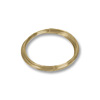 Round Bracelet Memory Wire Harvest Gold Stainless Steel 1/4oz.