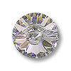 Swarovski Button 3015 14mm Crystal with Foil Back (1-Pc)