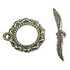 Toggle Clasp - 17x20mm Pewter Antique Silver Plated (Set)