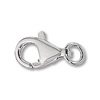 Lobster Clasp 13x7mm Sterling Silver (1-Pc)