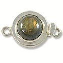 Designer Clasp with Labradorite Sterling Silver Filled (1-Pc)