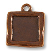 Charm - Picture Frame 19mm Antique Copper Plated (1-Pc)