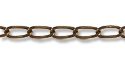 Curb Link Chain 2mm Antique Copper Plated (Priced per Foot)