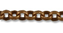 Rolo Link Chain 2mm Antique Copper Plated (Priced per Foot)