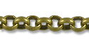 Rolo Link Chain 2mm Antique Brass Plated (Priced per Foot)