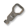 Cup Chain End Crimp with Large Hole Gun Metal Plated (6-Pcs)