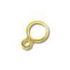 6.5mm 14k Yellow Gold Connector Ring (1-Pc)