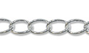 Long Curb Link Chain 2.65mm Sterling Silver (Priced per Foot)