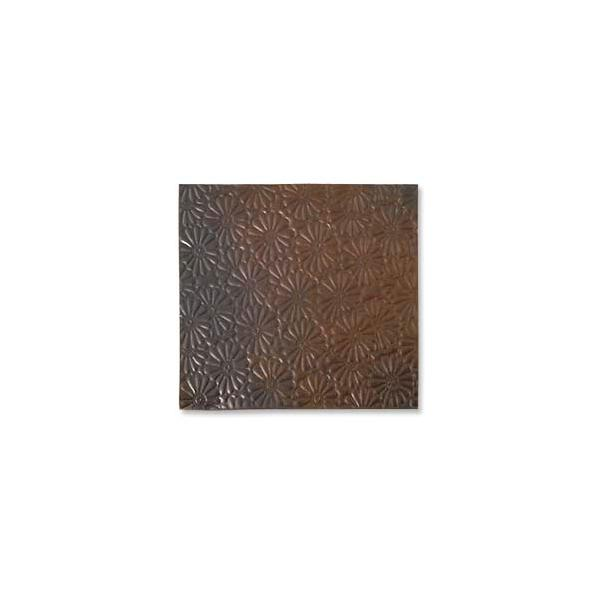 Copper Sheet Lillypilly Flower Embossed Antique Bronze