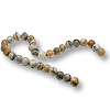 Crazy Lace Agate Beads 8mm (16