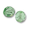 Czech Fire Polished Rounds 4mm Peridot (10-Pcs)