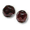 Czech Fire Polished Rounds 6mm Garnet (10-Pcs)