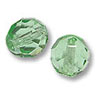 Czech Fire Polished Rounds 6mm Peridot (10-Pcs)