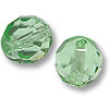 Czech Fire Polished Rounds 8mm Peridot (10-Pcs)