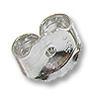 Ear Back Light Weight 14k White Gold (1-Pc)