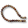 Flower Agate Beads Round 4mm (16