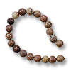 Flower Agate Beads Round 6mm (16